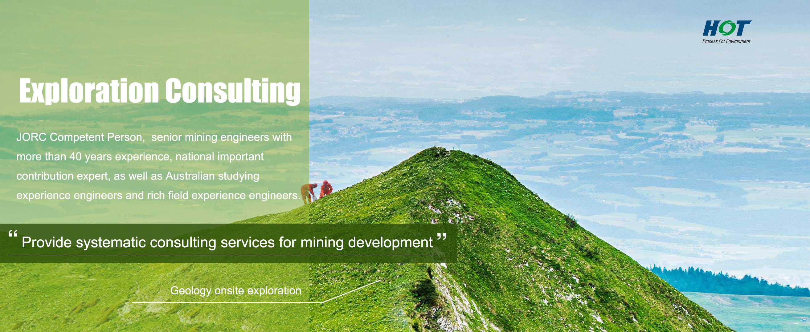 consulting geology HOT Mining Tech